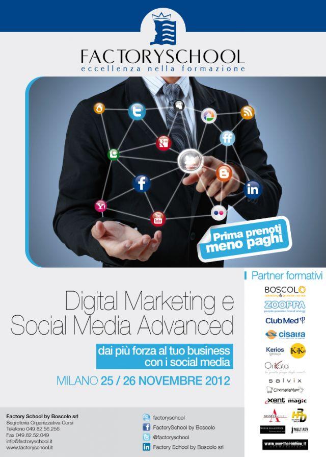 Corso di Digital Marketing e Social Media